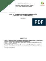 Plan Academia Diseño