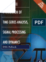 A Book of Time Series Analysis Signal Processing
