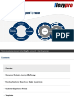 Non Stop Customer Experience Model
