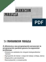 7.4 Programacion Paralela