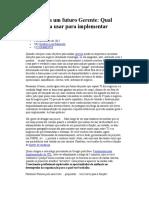 Carta Para Um Futuro Gerente - Qual Ferramenta Usar Para Implementar ITIL