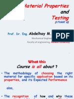 01 Materials Properties Introduction 2017-2018-Dr.abdelhay