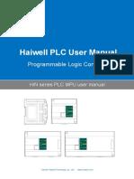 User's Manual of Haiwell H and N Series PLC MPU