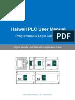 User's Manual of Haiwell PLC Digital Module