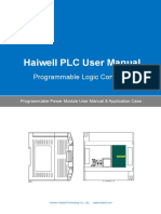 User's Manual of Haiwell PLC Programmable Power Module