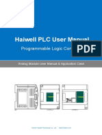 User's Manual of Haiwell PLC Analog Module