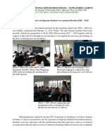 Accomplishment Report Ssg Election 2018 2019