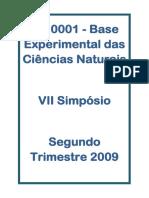 bases experimentais das ciencias naturais  - 2009