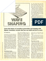 BJT Wave Shaping