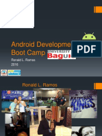 UB - Android Development Boot Camp 01