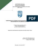 5 Comparación de Los Modelos de Propagación Electromagnética Para Sistemas Wi-fi en Ambientes Cerrados