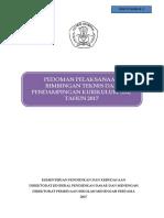 Pedoman Bimtek & Pendampingan @ Final Hasil Revisi . 18 Maret 2017