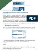 ___ Planimetría Aplicada - Unidad I - Tema 2 __