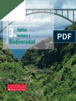 Manuales de Desarrollo Sostenible 3 Habitat Humano y Biodiversidad