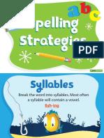TeachStarter 10 Spelling Strategies Posters 1345