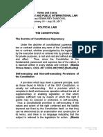 Political Law 2017 Syllabus