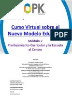 Modulo2 Planteamiento Curricular Escuela Centro