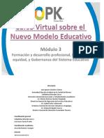 Modulo3 Formacion Desarrollo Inclusion Equidad Gobernanza Sistema Educativo