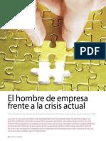 4-El Hombre de Empresa a La Crisis Actual