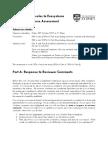Personal Response Information