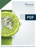 Firmenich - Compendium Perfumery Ingredients 2016