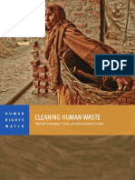 HRW - Cleaning Human Waste; 'Manual Scavenging,' Caste, And Discrimination in India (2014)