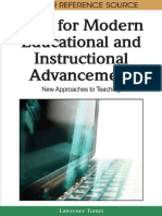 ICTs for Modern Educational and Instructional Advancement_ New Approaches to Teaching-Information Science Reference (2009)