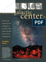 A Trip to the Galactic Center