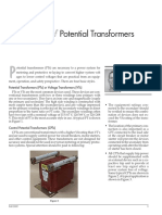 180691748 Testing of Potential Transformers PDF