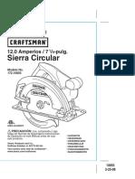 Sierra Circular Portatil