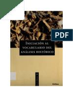 VILAR Pierre Iniciacion Historia