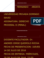 Tarea Nº 3 Derecho Procesal II (Penal) Docx