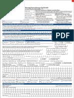 UOB Credit Card Application Form 1117