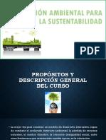 Educación Ambiental Para La Sustentabilidad (Propósitos)