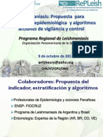 LEISHMANIASIS Propuesta Clasificación Epidem LT y LV 08-10-13