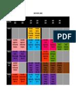 Timetable Sem 4
