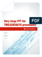 Very large FFT Processor