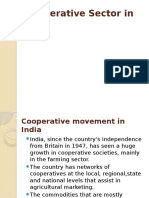 Co Operative Sectors