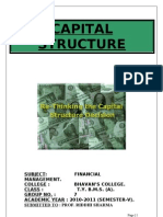 Capital Structure (Fm) 2003