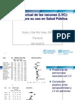 Situación Actual de Las Vacunas (LVC)