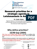 Research Agenda for Leishmaniasis ZY