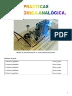 Prácticas electrónica - PROTOBOARD - 3º ESO