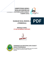 Soal Modul 2 - It Networking - Lks 2016