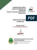 Soal Modul 4 - It Networking - Lks 2016