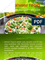 Diet Demam Tifoid