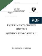 Experimentación en Síntesis Orgánica II