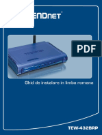 Ghid Instalare Router