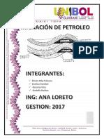 Informe de Migracion de Petroleo