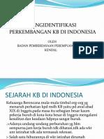 Sejarah Kb Di Indonesia(1)