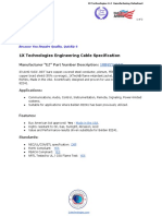 Belden 82241 Cable Equivalent - 1XB82241EQ - 1X Technologies Engineering Cable Specification
